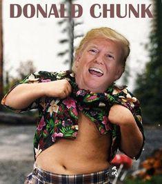 Donald Chunk #funny #meme