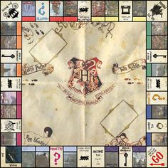 Shared with Dropbox Harry Potter Monopoly, Harry Potter Marathon, Harry Potter Games, Harry Potter Magic, Monopole Harry Potter, Magia Harry Potter, Harry Potter References, Diy Tumblr, Potter Facts