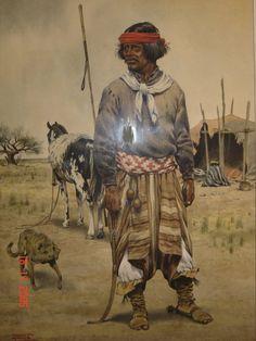 Rodolfo Ramos. gran pintor Argentino. gauchos Latin America, South America, Hispanic American, Cowboy Girl, Native American Tribes, Wild West, Black Art, Folklore, Nativity