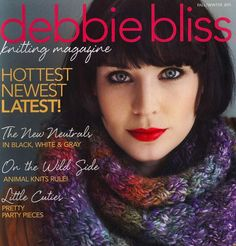 """Photo from album """"Debbie Bliss Knitting Magazine Fall Winter - on Yandex. Knitting Books, Knitting Projects, Knitting Patterns, Crochet Magazine, Knitting Magazine, Circular Knitting Needles, Album, Pattern Books, Journal"""