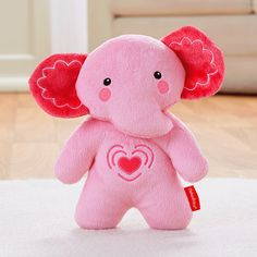 Check out the Calming Vibrations Cuddle Soother - Pink at the official Fisher-Price website. Explore all our baby and toddler gear, toys and accessories today! Fisher Price Baby Toys, Baby List, Nursery Furniture, Traveling With Baby, Baby Registry, Baby Gear, Hello Kitty, Dinosaur Stuffed Animal, Elephant