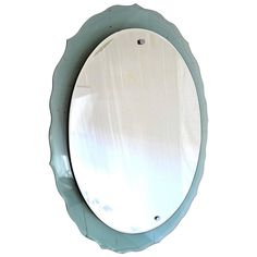 Mid-20th Century Italian Wall Mirror | From a unique collection of antique and modern more mirrors at https://www.1stdibs.com/furniture/mirrors/more-mirrors/