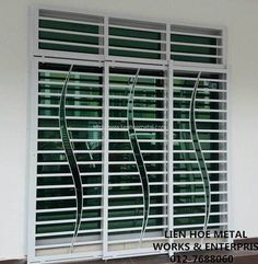 modern windows grills - Google Search | Doors & Windows