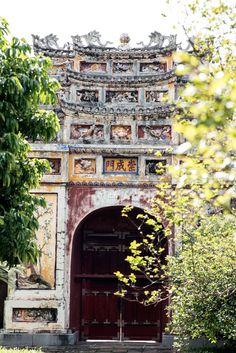 Forbidden City: Chong Cheng Gate, Hue, Vietnam