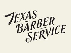 Texas Barber Service by Simon Walker