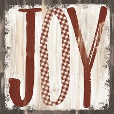 Framed JOY Print