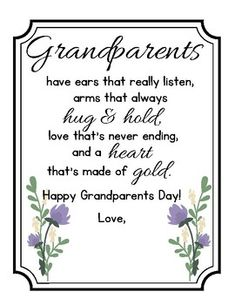 Grandparent's Day Poem for Performance/Recitation in 2020
