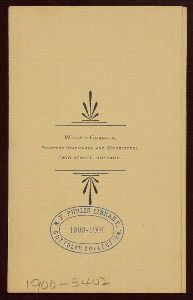 The New York Public Library has over 40,000 new and vintage restaurant menus stored online!