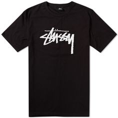 This stock t-shirt from Stussy couldn't be simpler. It features the brand's logo printed in front. Check out more designs at http://fusionswag.com/t-shirts #Stussy #StussyClothing