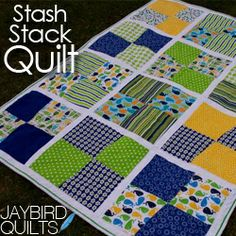 This is a Stash Stack. Stash Stacks are bundles of 12 coordinated Fat Quarters.   pdf  tutorial at http://www.swatchandstitch.com/home_page/2010/12/10/a-little-birdie-told-me-stash-stack-quilt-tutorial.html