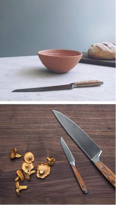 The chef's knife, also called a cook's knife, is named so because it is a generalist as opposed to a specialist: it is suited to almost any task the gourmet chef or the home cook can think of, from mincing garlic and slicing vegetables to disjointing a whole chicken. This model is forged from a single piece of metal by Felix Solingen, a knife maker that has been using traditional methods for over two centuries.