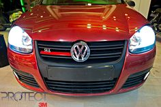 Front view of our modified Golf Gt