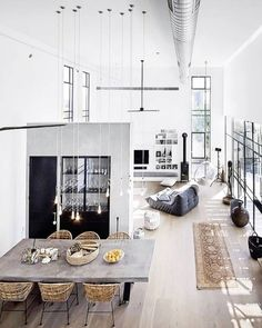 "446 Likes, 2 Comments - HENDRIX & HARLOW - Official (@hendrixandharlow) on Instagram: ""What a cracking home some clever person has designed in this incredible loft-style space. We would…"""