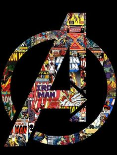 I'm such a nerd when it comes to Marvel. I love the Avengers.