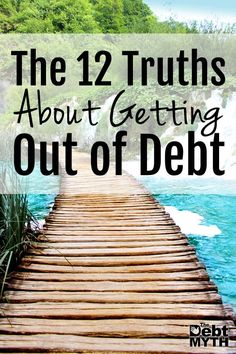 12 truths about paying off debt that you probably didn't realize -- #1. You don't have to live like a monk to get out of debt...