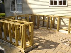 Here Is A Nice Little Idea For A Bar And Grill Project To Make Or Add  Changes To The Existing Patio Or A Back Yard For Some Summer Fun.