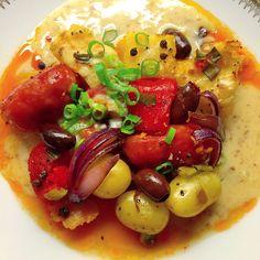 Chorizo, Fruit Salad, Red Peppers, Fruit Salads