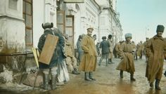 Snapshots of the 1917 Russian Revolution