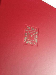 My favorite shade of red... @cartier watchmaking book collection 2015 ⌚️ #SalonInternacionaldeAltaRelojeria  #siar #anitatakescartier