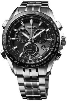 Discover a large selection of Seiko Astron GPS Solar Chronograph watches on - the worldwide marketplace for luxury watches. Compare all Seiko Astron GPS Solar Chronograph watches ✓ Buy safely & securely ✓ Amazing Watches, Beautiful Watches, Cool Watches, Cheap Watches, Fossil Watches, Seiko Watches, Nixon Watches, Stylish Watches, Luxury Watches For Men
