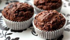 Schokoladen-Muffins ohne Ei / vegan