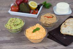Sallys Blog - 3 leckere 5 Minuten-Grill-Dips / Brotaufstriche