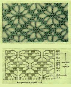 Best 12 Photo from album Filet Crochet, T-shirt Au Crochet, Mode Crochet, Crochet Motifs, Crochet Square Patterns, Crochet Shirt, Crochet Stitches Patterns, Crochet Diagram, Crochet Designs