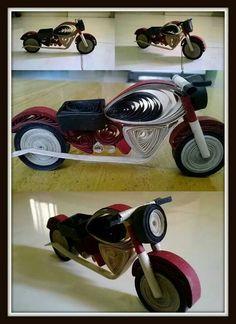 Motorbike quill