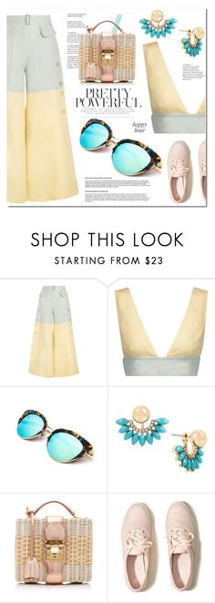 """""""Happy Hour"""" by ilona-828 ❤ liked on Polyvore featuring Valentino, Mambo, INC International Concepts, Mark Cross, Hollister Co. and happyhour"""