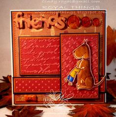 Friends by csroyal - Cards and Paper Crafts at Splitcoaststampers