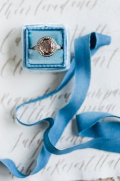 Vintage circle-cut engagement ring: Photography: Kibogo Photography - kibogophotography.com   Read More on SMP: http://www.stylemepretty.com/destination-weddings/2017/02/02/ethereal-natural-wedding-inspiration/