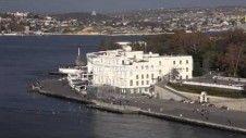 View of the Sevastopol bay. Crimea, Ukraine. Free HD stock footage. http://www.freemediabank.com/view-of-the-sevastopol-bay-crimea-ukraine/