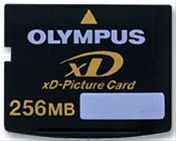 256MB Type S (Standard) xD-Picture Card