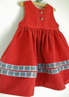 it's all in the details! Cute little girls dress, tutorial link.