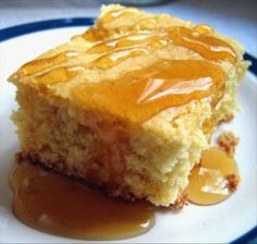 Copycat Marie Callender s Cornbread from Food.com:   								Serve with honey-butter for a great treat!