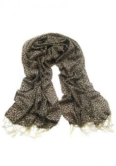 Melrose Glam Panther Heart Scarf