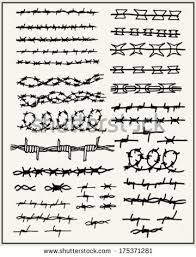 Image result for barbed wire drawing | Barbed wire drawings ...