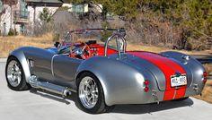 cobra-HillK-co-075rearLS.jpg 1,296×738 pixels Ford Shelby Cobra, Mustang Cobra, Cobra Replica, American Classic Cars, American Muscle Cars, 427 Cobra, Kit Cars, Retro Cars, Collector Cars