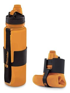 10 Unique & Innovative Collapsible Water Bottles For Travelers - Things I Desire Survival Life Hacks, Survival Tools, Plastic Bottle Cutter, Bottle Drawing, Collapsible Water Bottle, Outdoor Gifts, Water Bottle Design, Cool Inventions, Camping Accessories