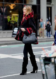 Blake Lively out & about for Halloween on October 29, 2014.
