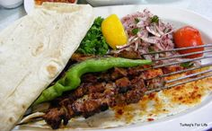 #Turkish #Food - Ciğer Şiş in #Ankara (Liver şiş kebab)