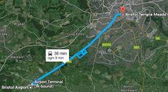A1 Bristol Airport - Bristol Temple Meads