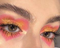 Cute Makeup Looks, Makeup Eye Looks, Eye Makeup Art, Clown Makeup, Fairy Makeup, Pretty Makeup, Skin Makeup, Halloween Makeup, Edgy Makeup