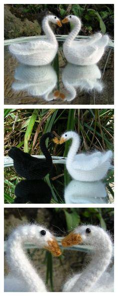 Crochet Swan Amigurumi Free Pattern