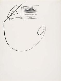 Untitled, 1967 - Saul Steinberg