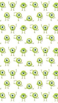 Pattern, wallpaper, monsters inc, disney,