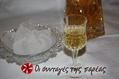 Great recipe for Tangerine liqueur. One of the recipes that I didn't believe on. Recipe by monbebe Athens By Night, Fermentation Recipes, Baileys Irish Cream, Recipe Images, Milkshake, Liquor, Wine Glass, Jar, Drinks