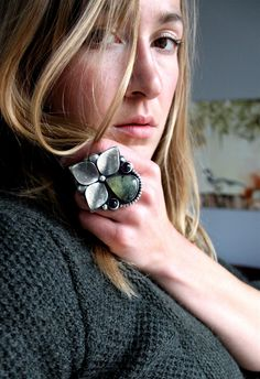 The Noisy Plume // her jewelry pieces are like wearable sculpture