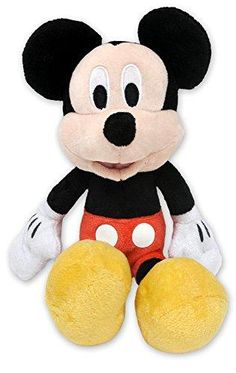 Mickey Mouse Doll, Mickey Mouse Gifts, Disney Mickey Mouse Clubhouse, Plush Dolls, Doll Toys, Cartoon Kids, Easter Crafts, Baby Kids, Disneyland