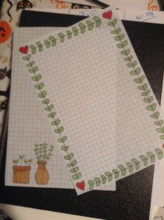 postage-princess:  I spent a disgusting amount of time on this stationary. It came out cute so I can't rlly complain…